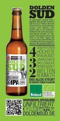 Riedenburger Brauhaus Ökobrauerei - Ökologisches Bio Bier: Doldensud