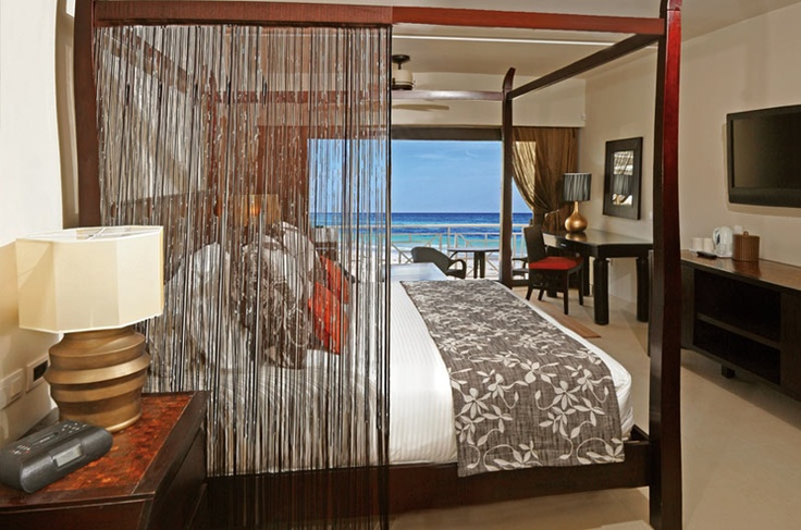 Secrets, Wild Orchid in Montego Bay, Jamaica....exactly what our room looked like!