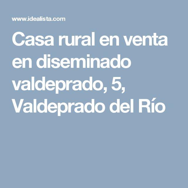 Casa rural en venta en diseminado valdeprado, 5, Valdeprado del Río