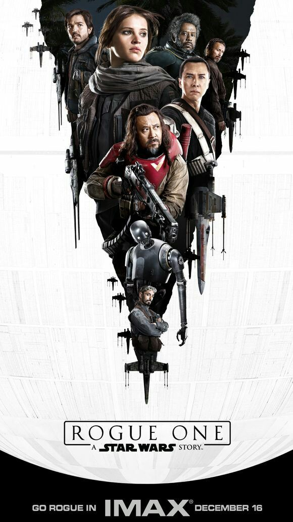 ROGUE ONE a Star Wars Story  IMAX one-sheet