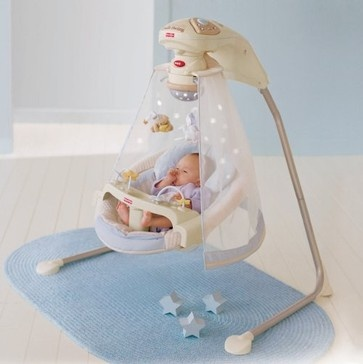 Fisher-Price Starlight Cradle Baby Swing contemporary baby swings and bouncers