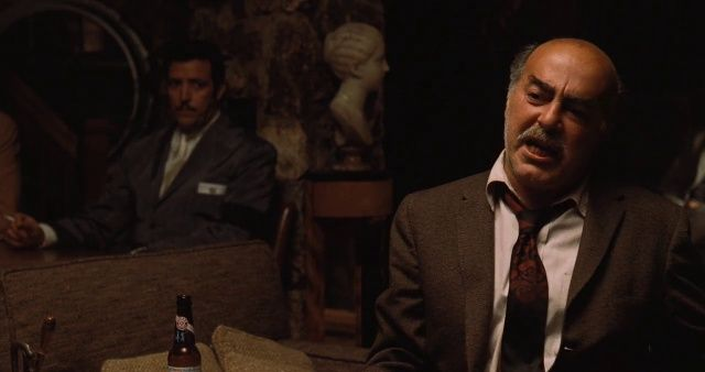 Michael V. Gazzo as Frank Pentangeli in The Godfather: Part II (1974)