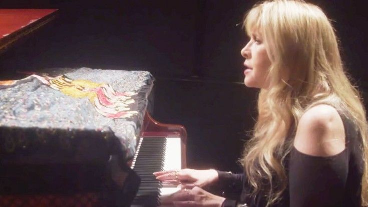 """Stevie Nicks' Never-Before-Seen Stripped-Down """"Gypsy"""" Version"""
