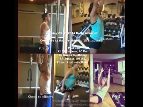 Friday 25.07.2014 Daily Workout