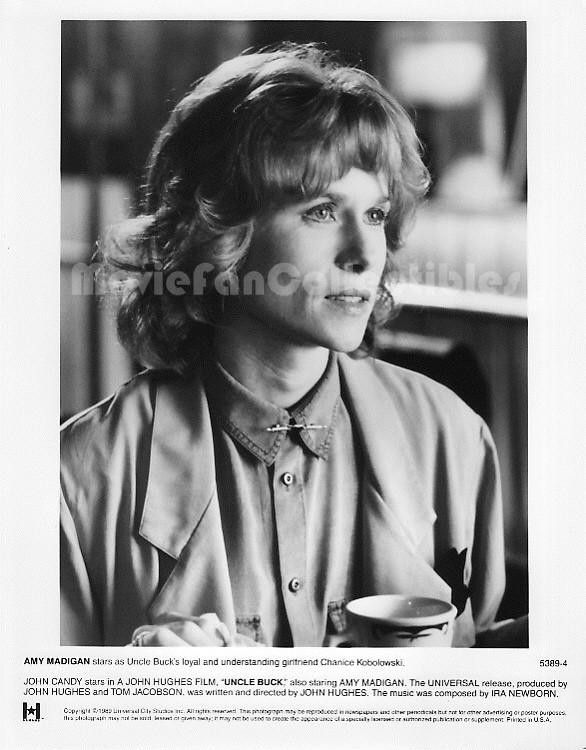 Uncle Buck Actor Amy Madigan 8x10 Glamour Shot Photo Movie Star