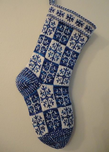 Ravelry: katherineknits' Christmas stocking
