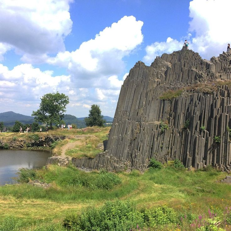 **Lord's Rock (volcanic formation) - Kamenicky Senov, Czech Republic