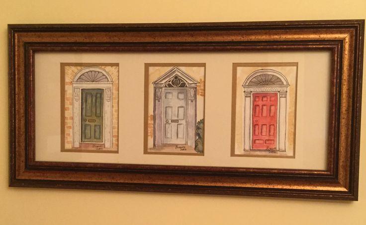 Doors #3 watercolor
