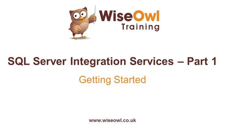 SQL Server Integration Services (SSIS) Part 1 - Getting Started