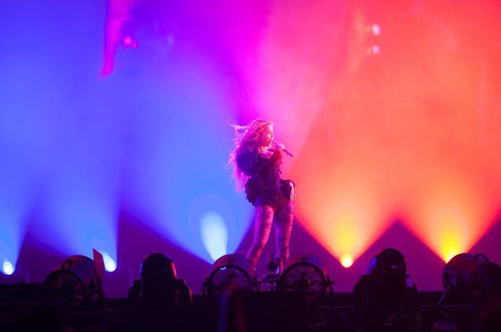 Pin for Later: What's Worse: Being Jealous or Crazy Over Beyoncé's Tour Outfits? Looking Good, Bey!