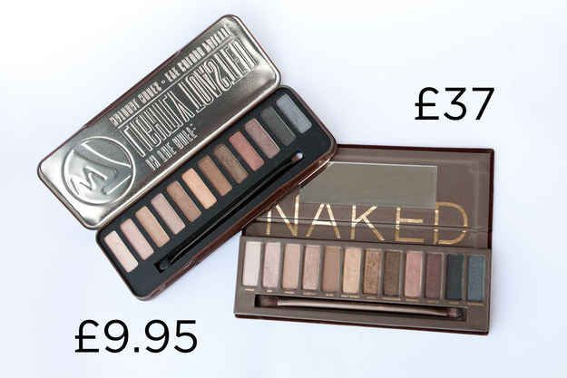 W7 In The Buff Palette in Lightly Toasted, £9.95