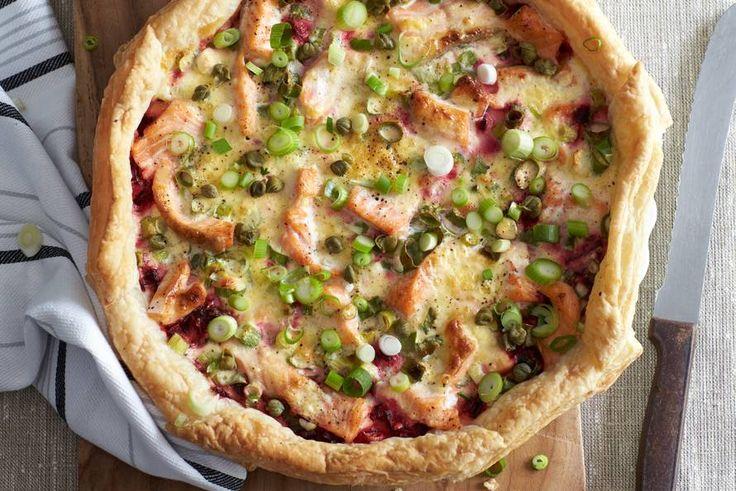 Vier de herfst met deze heerlijke quiche: Ideaal voor een etentje; even kort voorbereiden en hup, zo de oven in! - Recept - Allerhande