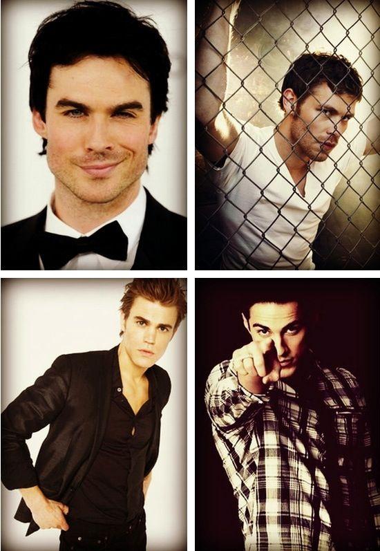 The Vampier Diaries men