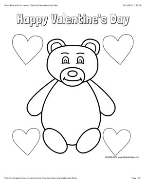 care bear valentines coloring pages - photo#23