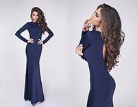 Вечернее платье Madlen темно синее