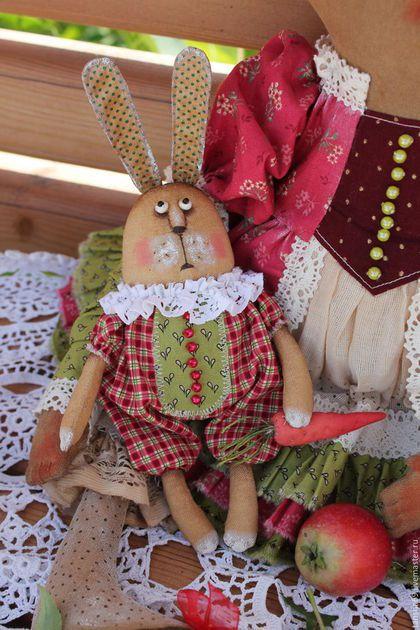Коллекционные куклы ручной работы. Заказать Принцесска и Зайка. Татьяна Козырева…