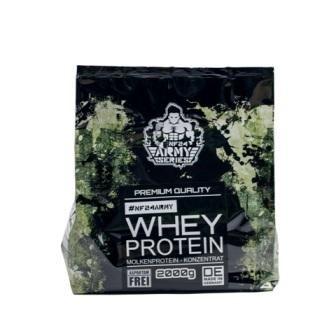 Das NF24ARMY  Whey Protein Konzentrat Pulver kaufen - made in Germany, leckerer Geschmack, gute Löslichkeit und hochwertige Rohstoffe zu einem nahezu unschlagbaren Preis ab 21,90EUR. Überzeuge dich jetzt von unserem neuen...