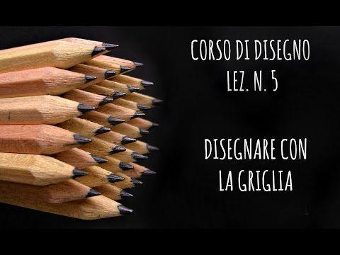 Corso di Disegno, lez. n.5 DISEGNARE CON LA GRIGLIA, si può? ( + GIVEAWAY) Arte per Te - YouTube