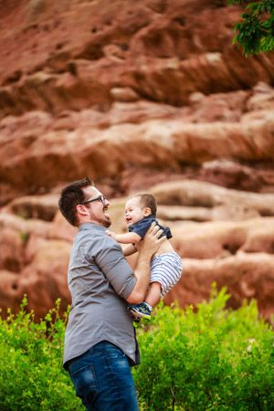 Denver Baby Photographer | Baby Portrait Photography | Denver Colorado Baby and Family Photographers | Red Rocks