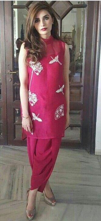Pakistani Eid outfit by Farida Hasan.