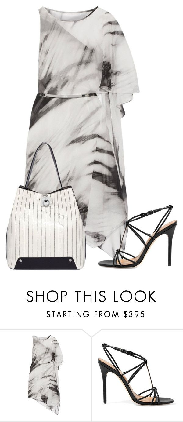 """""""Untitled #24765"""" by nanette-253 ❤ liked on Polyvore featuring Halston Heritage and Fiorelli"""
