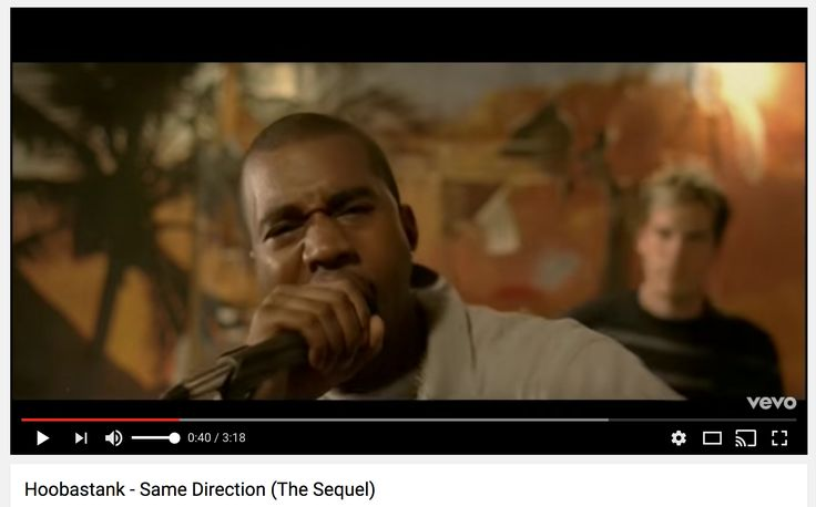 Never Forget: Kanye had a painful cameo in a Hoobastank video ('04)