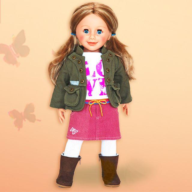 "The beautiful WeGirls Sara, a new 18""doll from Poland"