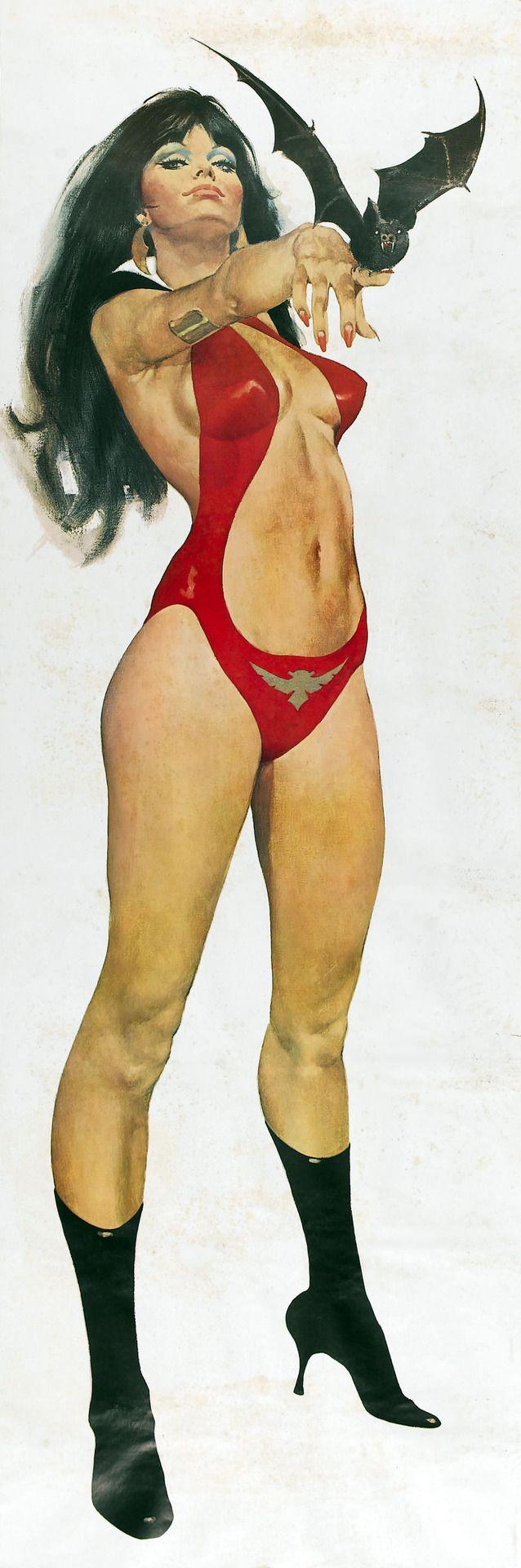 VAMPIRELLA, José González. José González Navarro, más conocido como Pepe González (Barcelona, 1939-13 de marzo de 2009)1 fue un ilustrador, historietista y pintor español, conocido principalmente por sus historietas románticas de la década de los 60, así como por su trabajo posterior en la serie de terror-erótico Vampirella, siempre para el mercado exterior. Pertenece a la generación de Luis García Mozos, Carlos Giménez, Josep Maria Beà, Esteban Maroto, o José Ortiz.