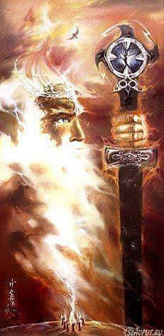 Perun, the highest god of the Slavic pantheon