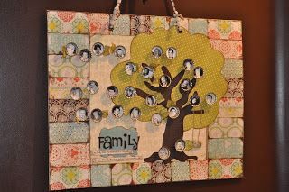 Magnetic family tree