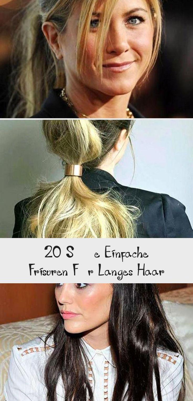 20 süße einfache frisuren für langes haar | hair styles