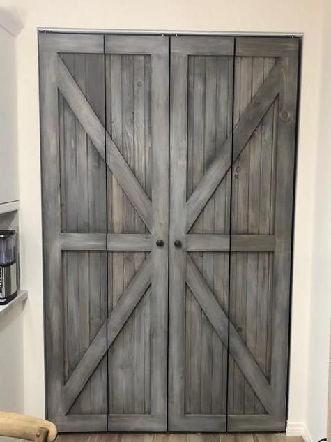 Hinged Bifold Closet Doors British Brace Design Home Decorating New Barn Door Patterns