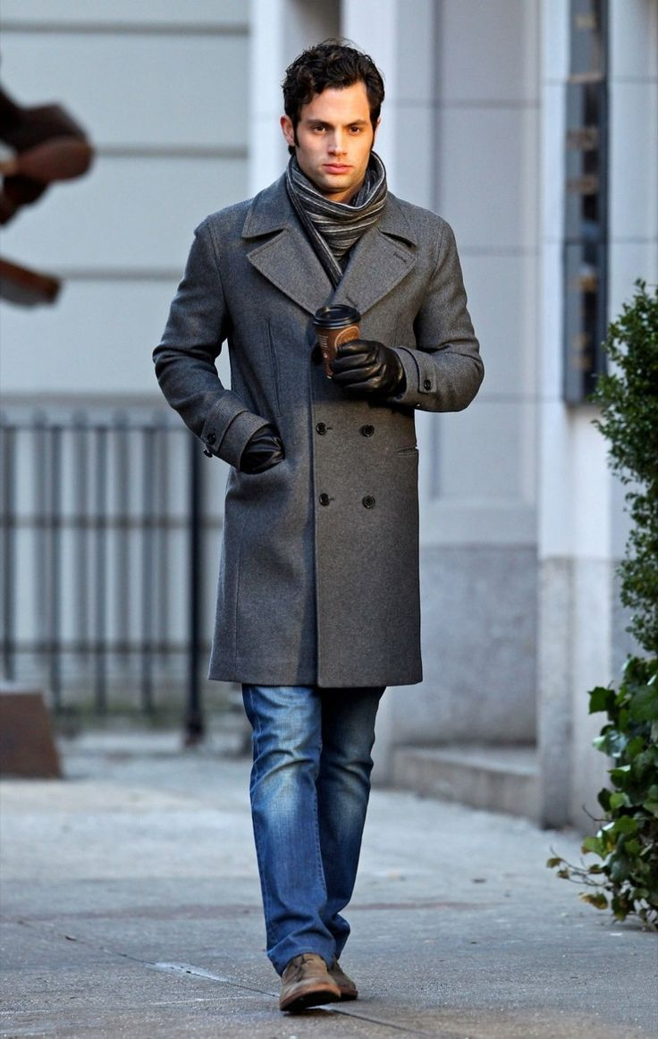 34 Trench Coat And Striped Scarf Mens Style