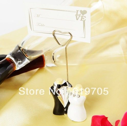 buy free shipping a doomed couple design place card holder wedding party