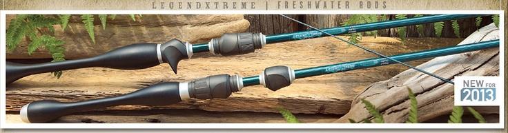 St. Croix Rods new Legendxtreme. One of the best fishing rods I've ever used!