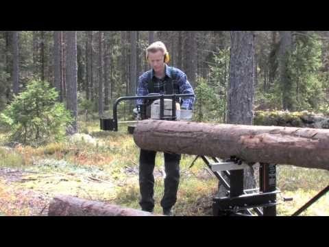 Aserradero portatil de troncos Timberjig - Smart Mapa - YouTube
