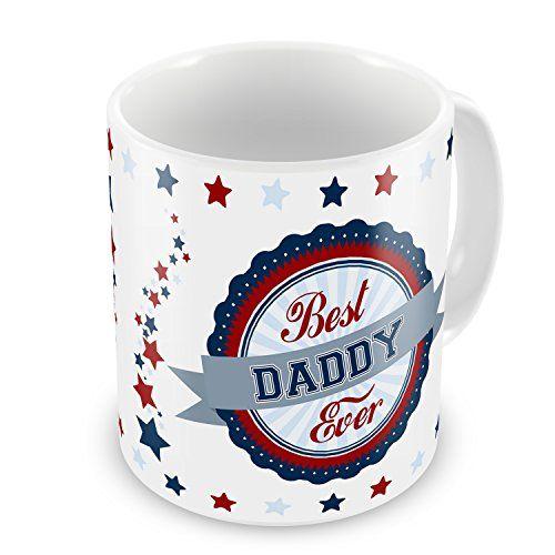 Best-Daddy-Ever-Novelty-Gift-Mug-Blue-Red