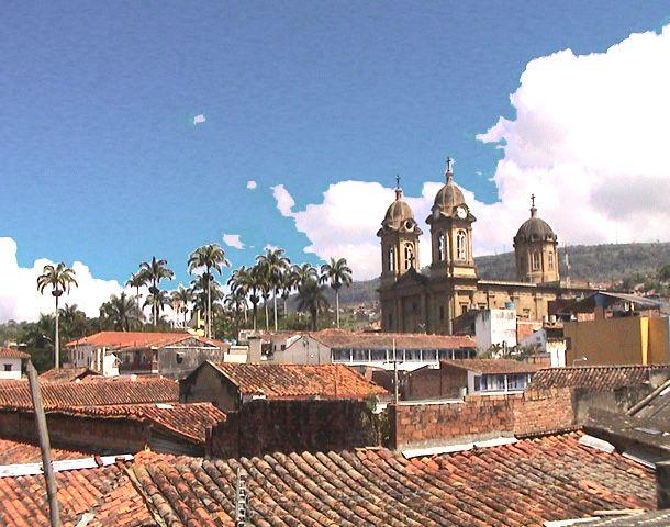 Colombia - Paisaje de Socorro, Santander.