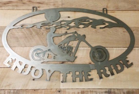 Metal Cut Out moto Custom personnalisé Chopper par MetalDesignWorx