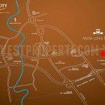 Map Nusa Loka Park BSD City.