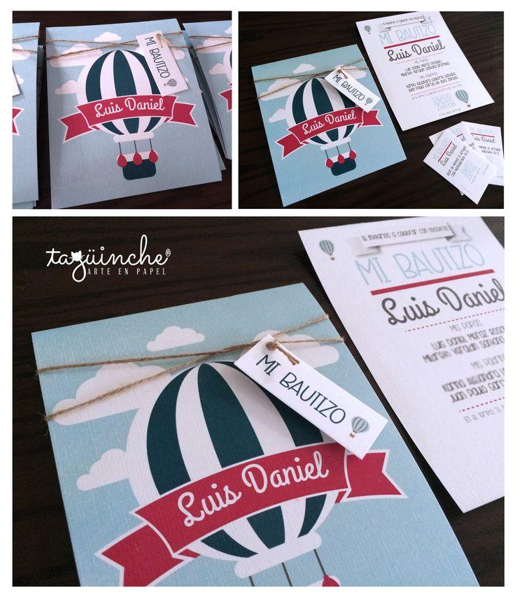 Invitaciones Bautizo www.taguinche.com