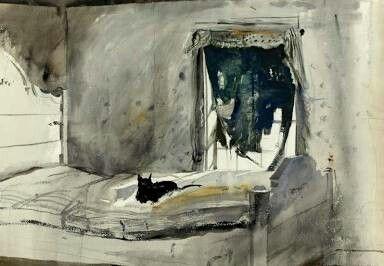 Christians bedroom Andrew Wyeth
