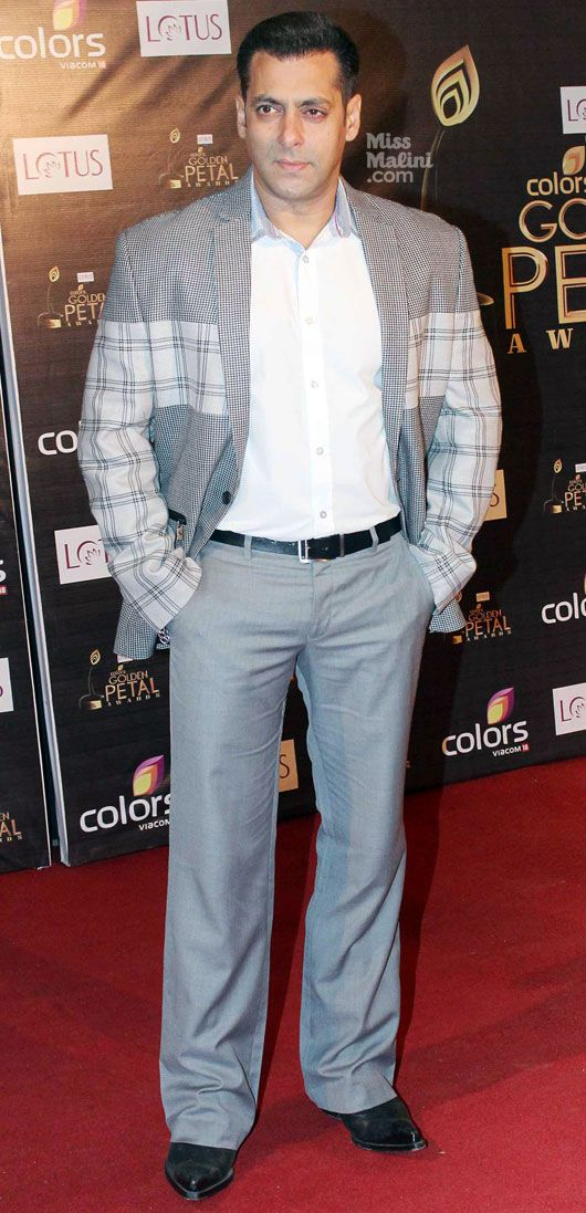 Salman Khan- Aapka Colors Golden Petal Awards