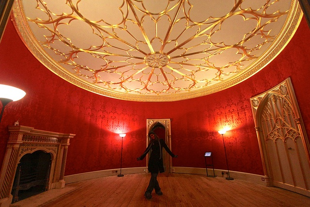 Strawberry Hill House Round Room