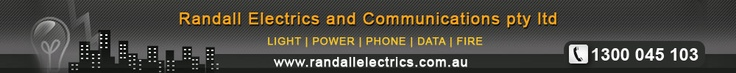 Randall Electrics and Communications pty ltd - Our team of dedicated and skilled technicians will carry out your job professionally no matter what your business or industry, we provide solutions at a competitive price.