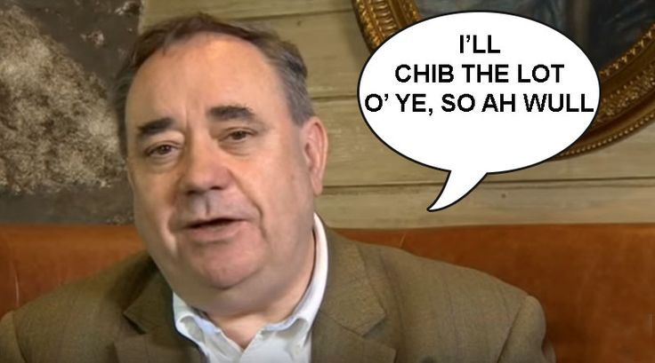A respected political commentator, and columnist for Dafty News online satirical magazine, was in hospital this morning following a frenzied attack by newly-defeated SNP stalwart, Alex Salmond,   #2nd Scottish referendum #alex salmond #Andrew Neil #danny soz #nicola sturgeon #SNP leader #soz satire