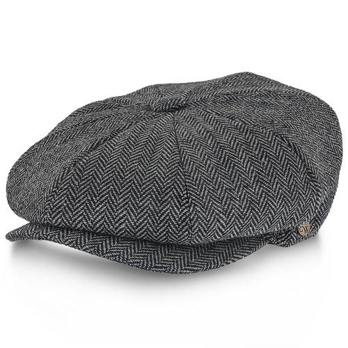 af7ce311 Shelby - Walrus Hat Wool Blend 8 Panel Newsboy Cap in 2019 | Peaky ...