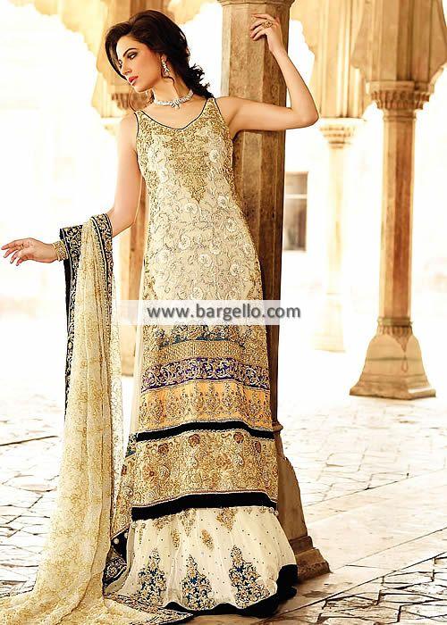 Latest Pakistani Bridal Gowns Oslo Norway D6027 Bridal Wear