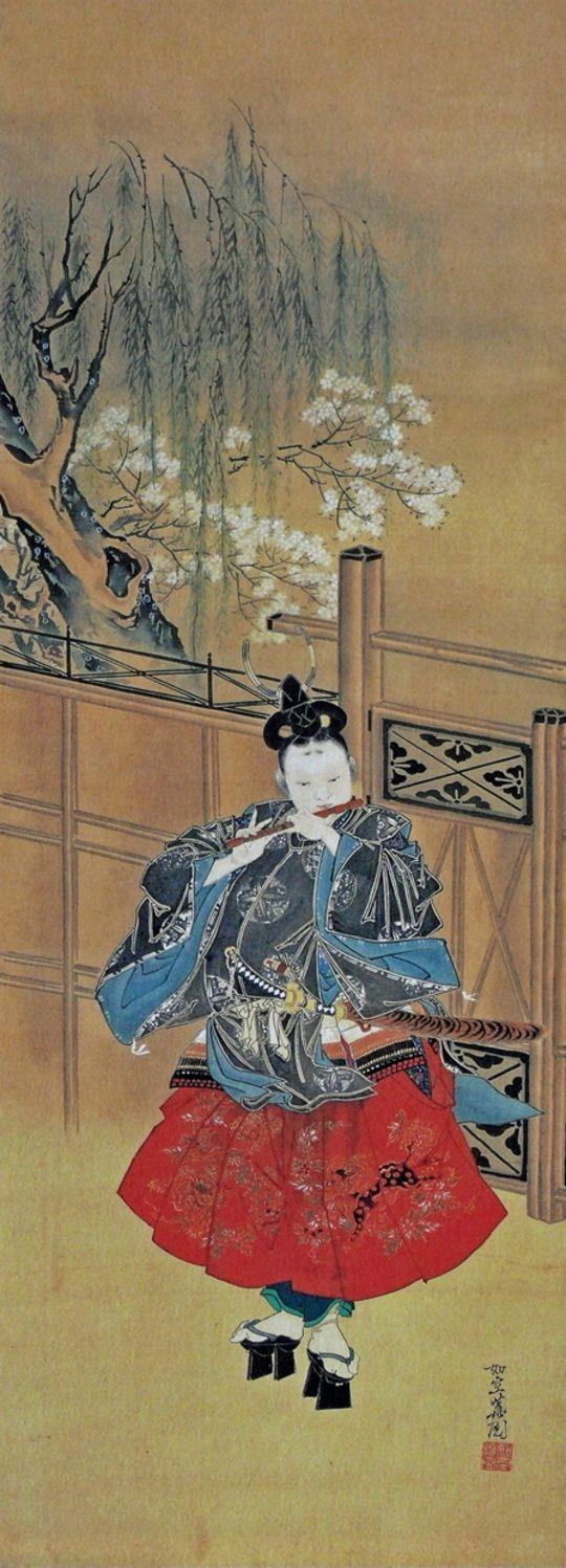 河鍋暁斎 :KAWANABE Kyosai :牛若丸