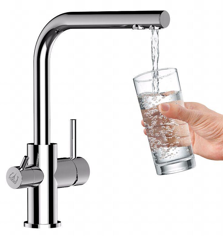 Niederdruck 3 wege Spültischarmatur für Osmose filter Küchenmischer Wasserfilter kaufen bei Hood.de